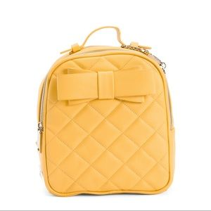 NWT Betsey Johnson Small Quilted Backpack
